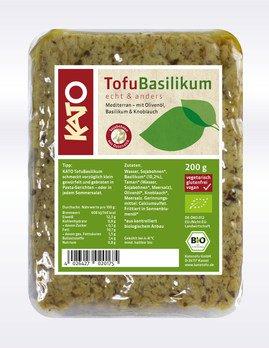 Basilikum-Tofu