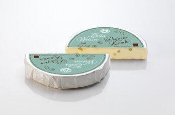 Brie mit Pistazien 50%F, Winterbrie