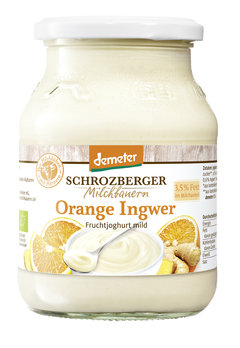 Fruchtjoghurt Winterliche Orange