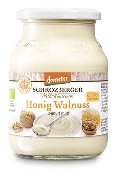 Fruchtjoghurt Honig Walnuss Demeter