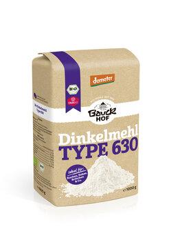 Dinkelmehl Hell Type 630, Demeter