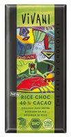 Reismilch Schokolade 40% Kakao, vegan