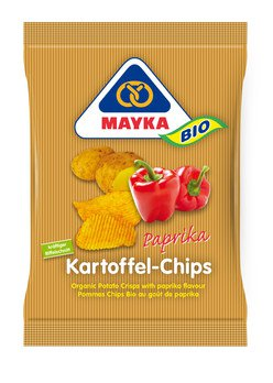 Kartoffel Chips Paprika