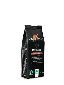 Mount Hagen Espresso ganze Boh