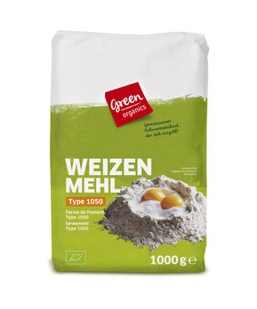 green Weizenmehl Type 1050