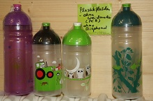 Trinkflasche ISYbe 0,5 Liter ohne Weichmacher bis 80 Grad heiße Getränke