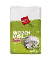 green Weizenmehl Type 550