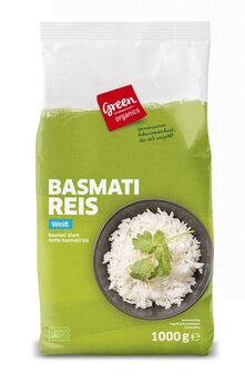 green Echter Basmati Reis weiß