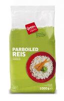 green Parboiled Reis lang
