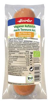Teewurst vegetarisch,... wie Teewurst