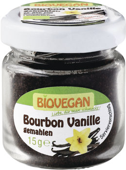 Bourbon Vanille gemahlen /Glas