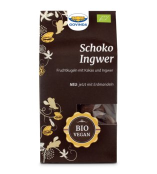 Schoko-Ingwer-Kugeln