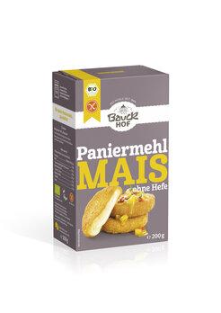 Mais Paniermehl, glutenfrei