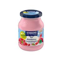 Fruchtjoghurt Himbeer-Granatapfel