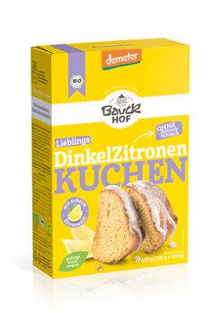 Dinkel Zitronenkuchen Backmischung
