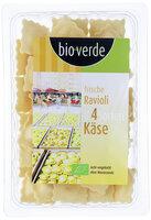 Frische Ravioli 4 Käsesorten
