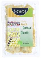 Frische Ravioli m. Rucola und