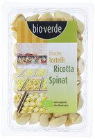 Tortelli mit Ricotta+Spinat
