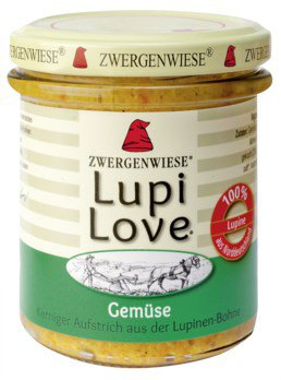 LupiLove Gemüse