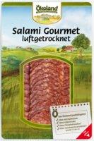 Gourmet Salami luftgetr. geschnitten