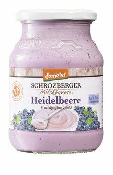 Fruchtjoghurt Heidelbeer Demeter