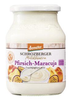 Fruchtjoghurt Demeter Pfirsich-Maracuja