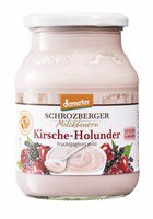 Fruchtjoghurt Kirsch Holunder Demeter