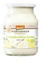 Fruchtjoghurt Holunderblüte Lemon Demeter