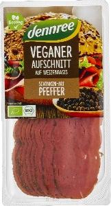 Veganer Aufschnitt Schinken Art