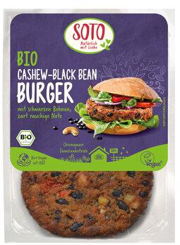 Cashew Burger Black Bean