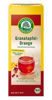 Granatapfel und Orange Tee