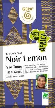 Noir Lemon Schokolade 85%