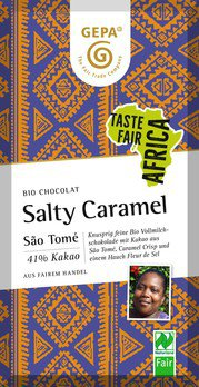 Salty Caramel Schokolade 41%