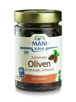 Kalamata Oliven entkernt al naturale