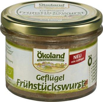 Geflügel-Frühstückswurst Glas