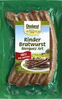Rinder-Bratwurst Merguez (4x50g)