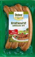 Bratwurst Salsiccia (4x50g)