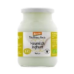 Heumilchjoghurt Feine Linie