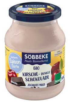 Fruchtjoghurt Kirsche Schokolade