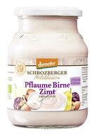 Fruchtjoghurt Pflaume-Birne-Zimt