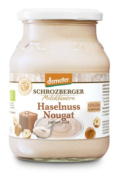 Demeter Haselnuss Joghurt