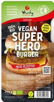 Superhero Burger vegan
