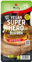 Superhero Burger vegan