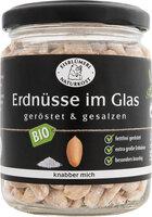 Erdnüsse geröstet & gesalzen im Glas