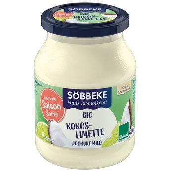 Fruchtjoghurt Kokos Limette