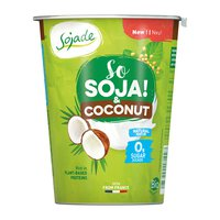 Soja Kokos Joghurt ohne Zucker