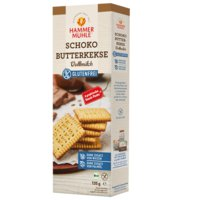 Schoko-Butterkekse glutenfrei