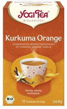 Yogi Tee Kurkuma Orange