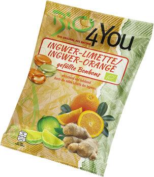 Bonbon Ingwer-Limette und Ingwer-Orange