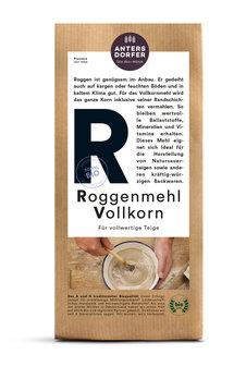 Roggenmehl Vollkorn